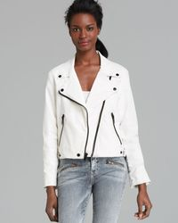 Current/Elliott Jacket The Soho Biker - Lyst