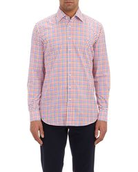 Etro Gingham End-on-end Shirt - Lyst