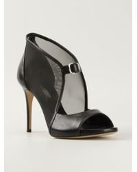 Casadei Mesh Panelled Pumps - Lyst