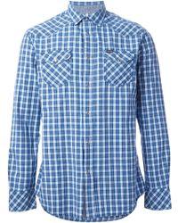 Diesel Blue S-ulfur Shirt - Lyst