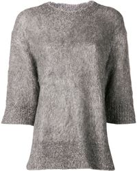 By Malene Birger Dalionas Melange Sweater - Lyst