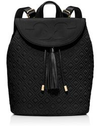 Tory Burch Fleming Nylon Backpack - Lyst