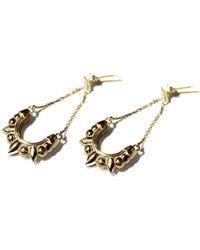 Pamela Love | Spike Chandelier Earrings | Lyst