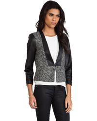 By Malene Birger Elegant Sway Chium Jacket in Black - Lyst