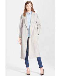 Ayr - 'the Robe' Wool Coat - Lyst