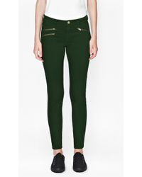French Connection Lilly Zip Skinny Jeans - Lyst