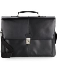 Kenneth Cole Reaction - Leather Briefcase - Lyst