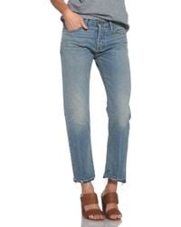 NSF Clothing Beck Jean blue - Lyst