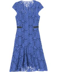 Rebecca Taylor Lace Dress - Lyst