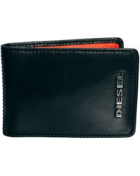 Diesel Letpass Xs Leather Wallet with Print - Lyst