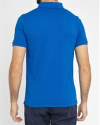 Closed | Neon Blue Short-sleeve Polo Shirt | Lyst