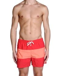 Maison Kitsuné - Swimming Trunk - Lyst