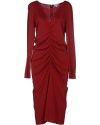 Alice By Temperley Knee-Length Dress purple - Lyst