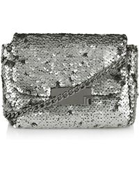 Topshop Sequin Crossbody Bag - Lyst