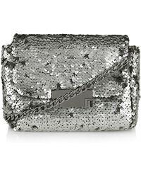 Topshop Sequin Crossbody Bag - Lyst