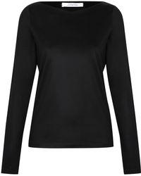 Dorothee Schumacher   black Multiple Visions Shirt V-neck 1/1   Lyst