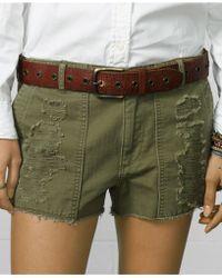 Denim & Supply Ralph Lauren - Distressed Leather Belt - Lyst