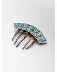 Free People - Womens French Deco Hair Comb - Lyst