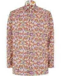 Eton of Sweden Floral Shirt - Lyst