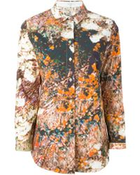 Carven Digitally Printed Shirt - Lyst