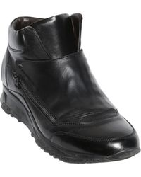 Lanvin Smooth Nappa Leather Mid High Running - Lyst