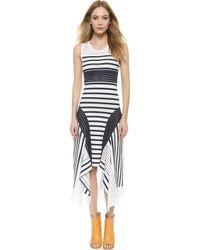 Jean Paul Gaultier Sleeveless Dress - Bianco - Lyst