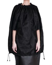 Junya Watanabe Curled Polyester Top black - Lyst