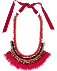 Margot & Me - Willow Necklace In Oleander - Lyst