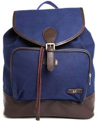 Fred Perry Canvas Backpack - Lyst