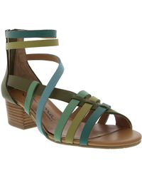 Nina Victor Synthetic Leather Sandals - Lyst