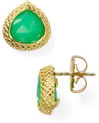 Coralia Leets - Braided Stud Earrings - Lyst