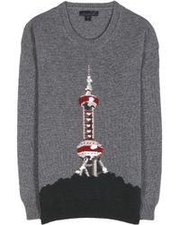 Burberry Prorsum Cashmere Sweater - Lyst