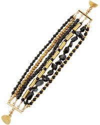 Dina Mackney - Spinel & Onyx Multi-row Bracelet - Lyst