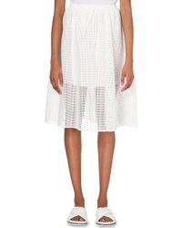 Clover Canyon Square-Mesh Skirt - For Women - Lyst