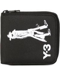 Y-3 - Small Yohji Wallet - Lyst