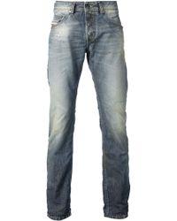 Diesel 'Belthar' Distressed Jeans - Lyst