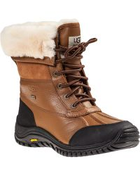 Ugg | Adirondack Ii Snow Boot Tan Leather | Lyst