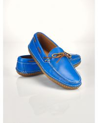 Ralph Lauren Aaric Leather Camp Moc - Lyst