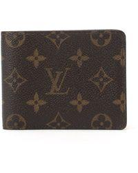 Louis Vuitton Monogram Wallet brown - Lyst
