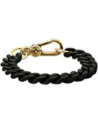 Marc By Marc Jacobs Key Items Rubber Chain Bracelet - Lyst