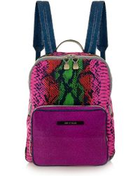 House Of Holland Backpack and Sack Snake - Lyst