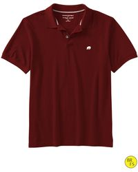 Banana Republic Factory Elephant Logo Polo Brick - Lyst