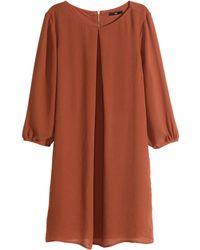 H&M Short Dress - Lyst