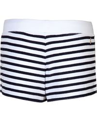 Juicy Couture Striped Shorts - Lyst