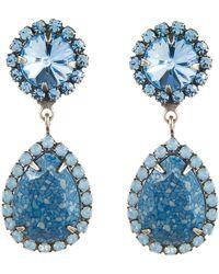 Dannijo Blue Monaco Earrings - Lyst