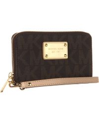 Michael by Michael Kors Saffiano Multifunction Case - Lyst