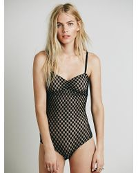 Intimately - Womens Candy Crush Bodysuit - Lyst