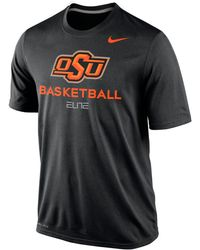 Nike Mens Oklahoma State Cowboys Basketball Practice T-shirt - Lyst