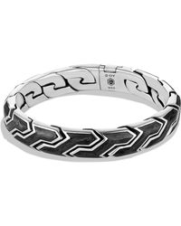 David Yurman Forged Carbon Link Bracelet - Lyst
