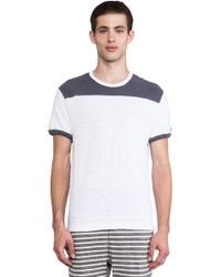 Todd Snyder + Champion Football Ringer Yoke Tee - Lyst